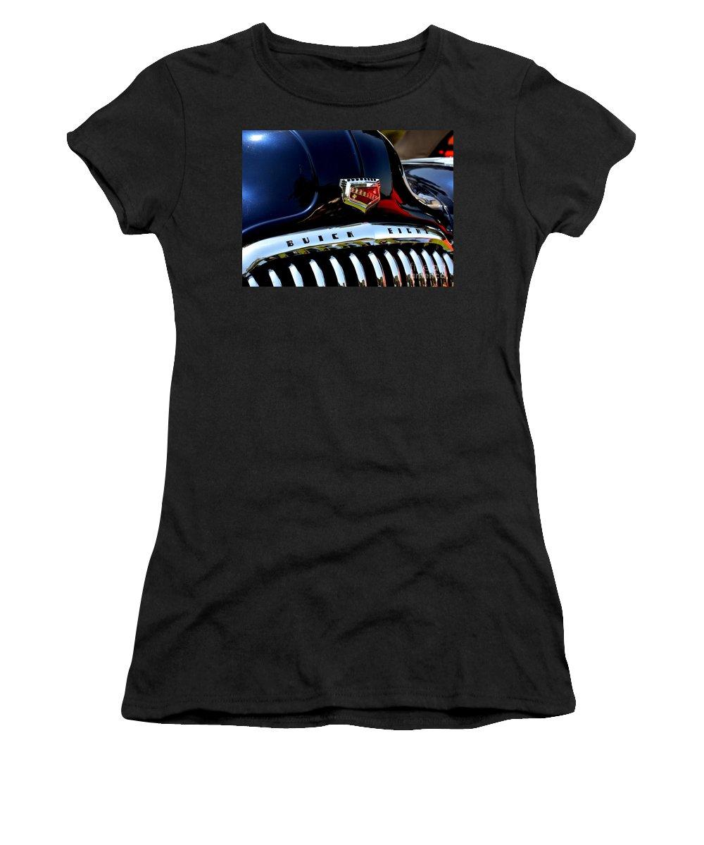 Women's T-Shirt featuring the photograph Buick Roadmaster by Dean Ferreira