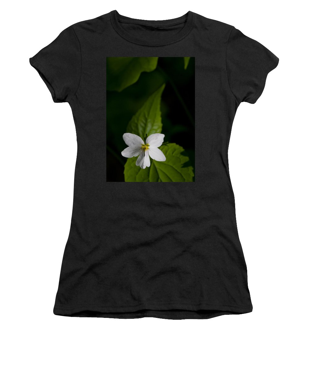 Canada Violet Women's T-Shirt featuring the photograph Canada Violet by Melinda Fawver