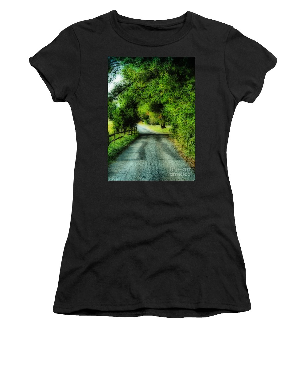 Scenic Tours Women's T-Shirt featuring the photograph Canopy by Skip Willits