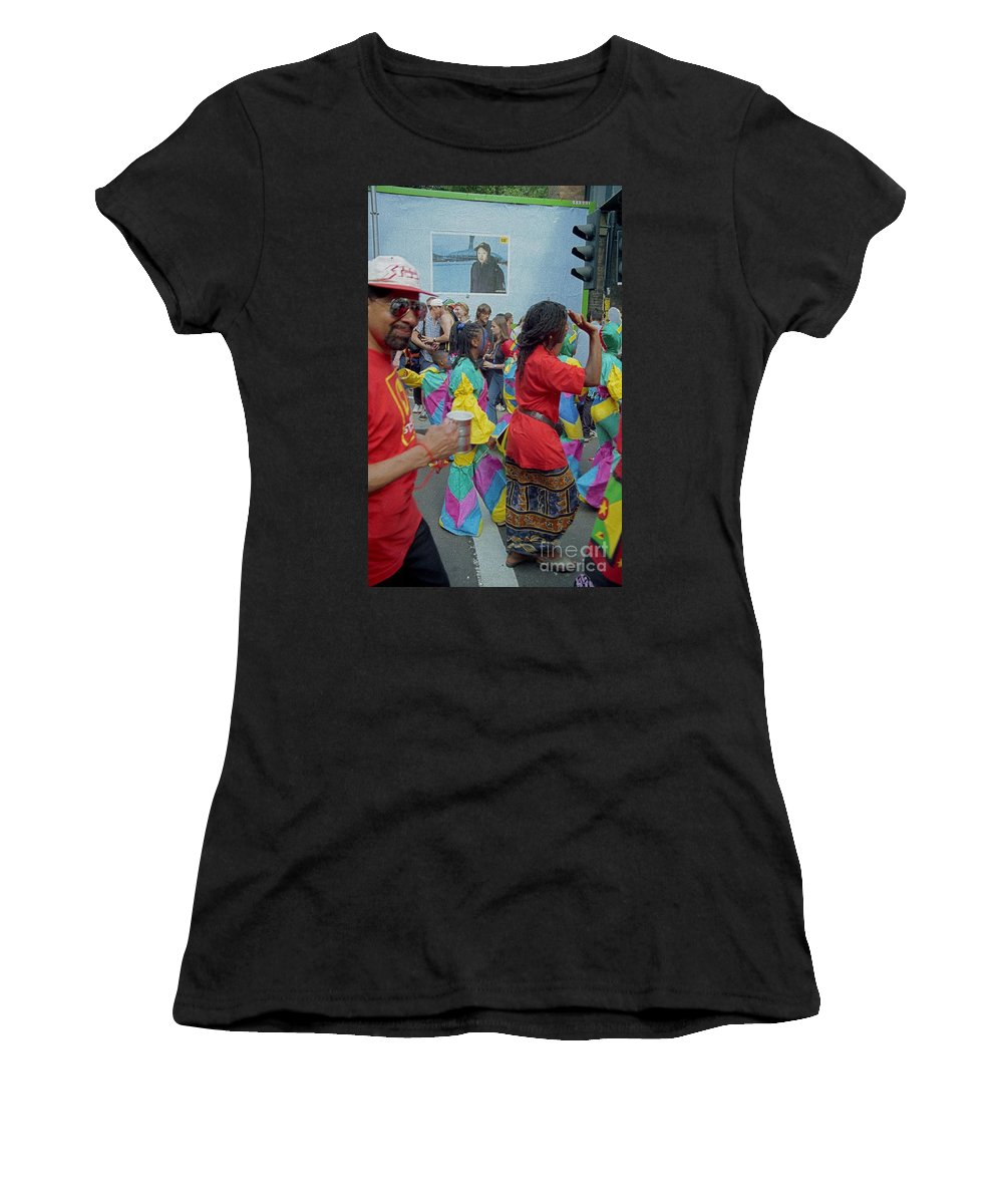 Carnival Women's T-Shirt featuring the photograph Carnival Dancing by Richard Morris