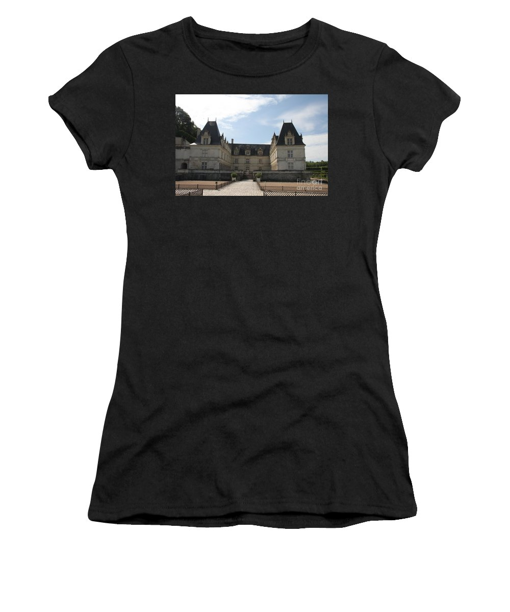 Palace Women's T-Shirt (Athletic Fit) featuring the photograph Chateau Villandry by Christiane Schulze Art And Photography
