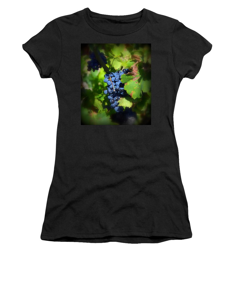 Chateauneuf Women's T-Shirt featuring the photograph Chateauneuf Du Pape Hidden Treasure by Carla Parris