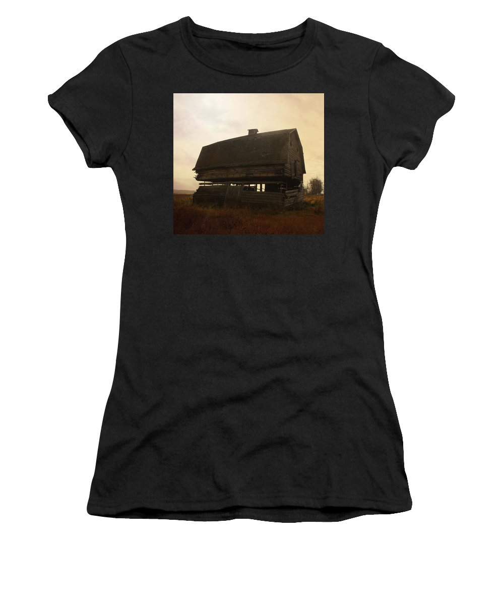 Barn Women's T-Shirt featuring the photograph Child Of Grass by The Artist Project