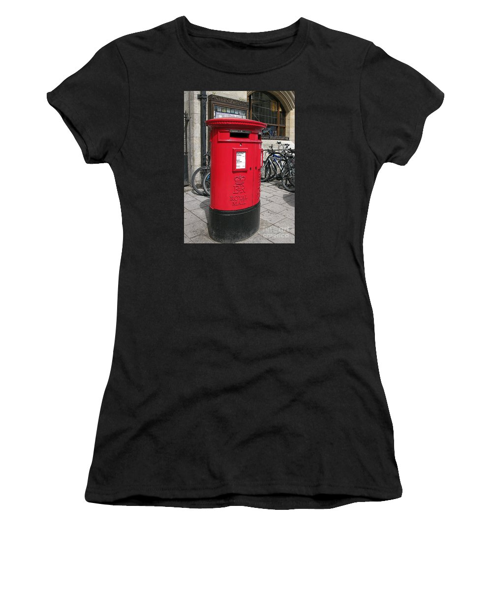 Oxford Women's T-Shirt (Athletic Fit) featuring the photograph City Of Oxford by Ann Horn