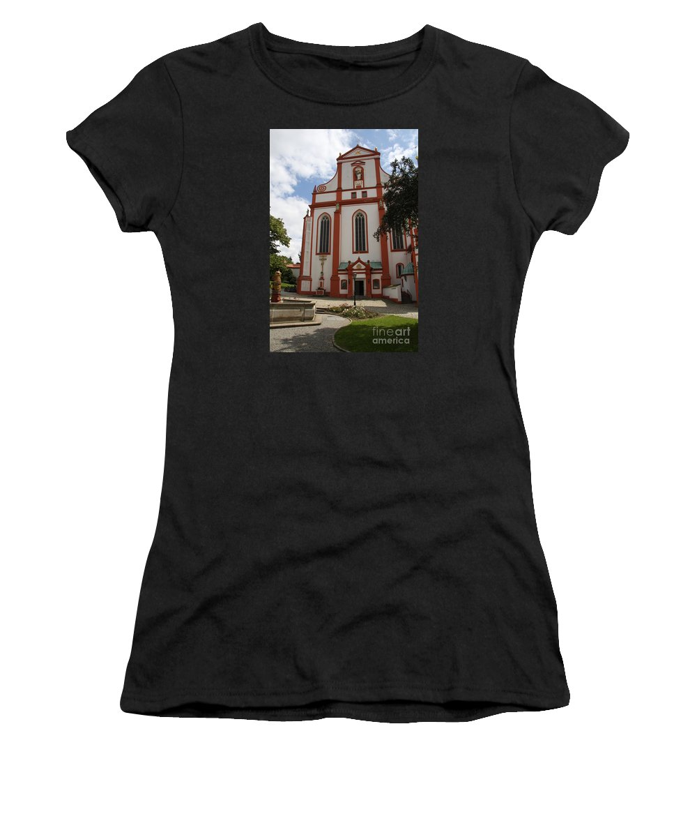 Cloister Women's T-Shirt featuring the photograph Cloister - St. Marienstern by Christiane Schulze Art And Photography