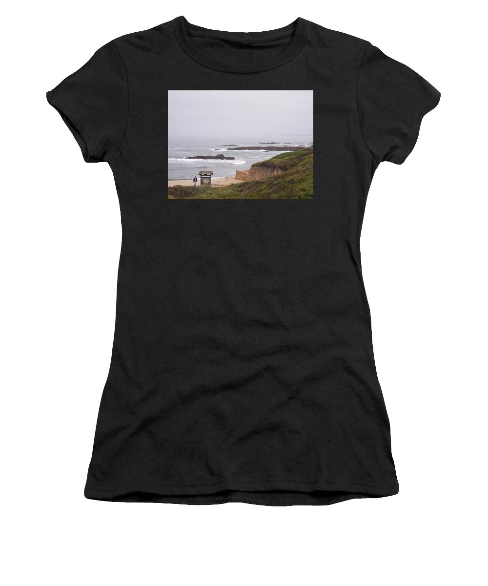 Coast Women's T-Shirt (Athletic Fit) featuring the photograph Coastal Scene 7 by Pharris Art