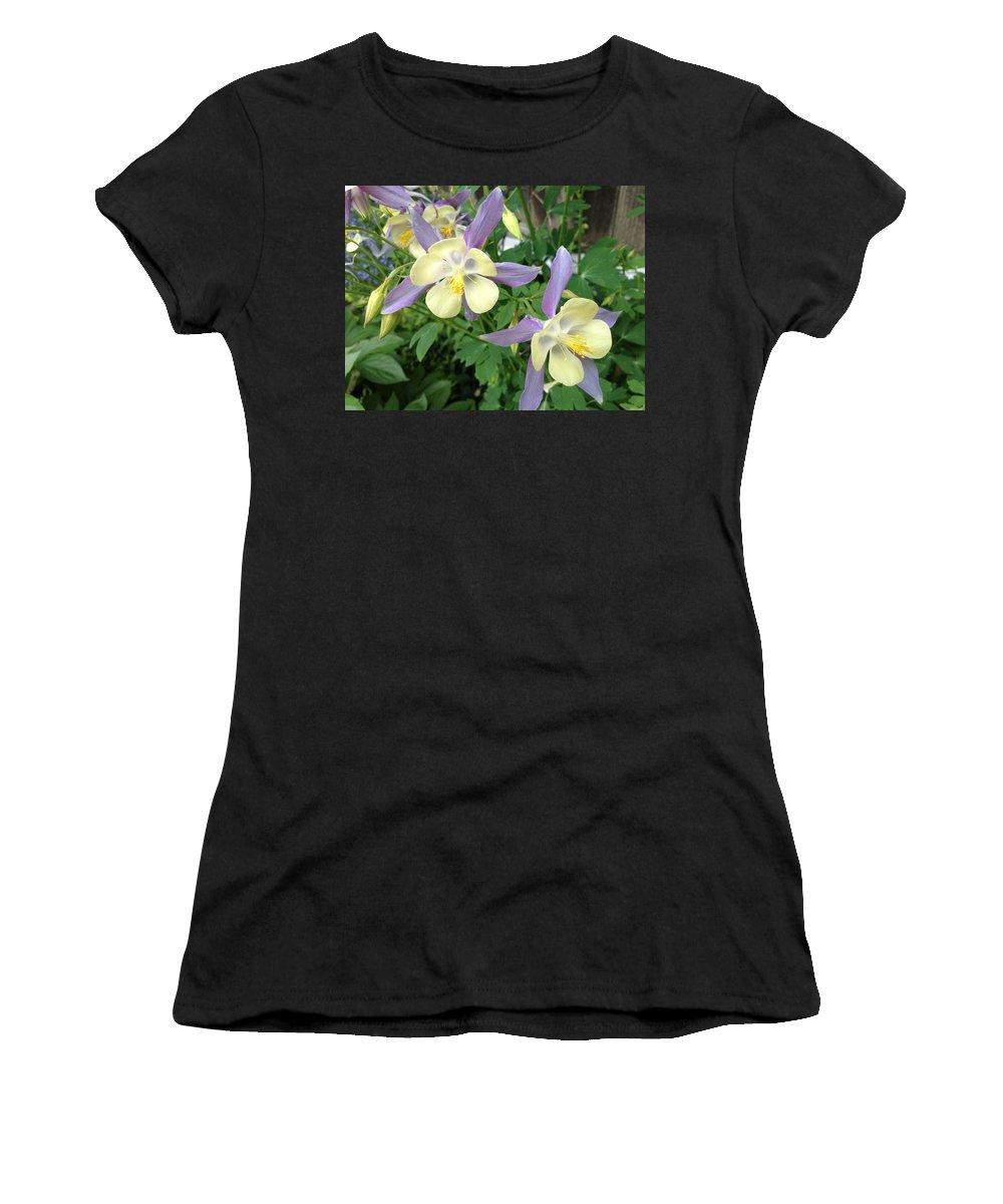 Columbine Women's T-Shirt featuring the photograph Columbine 1 by Pema Hou