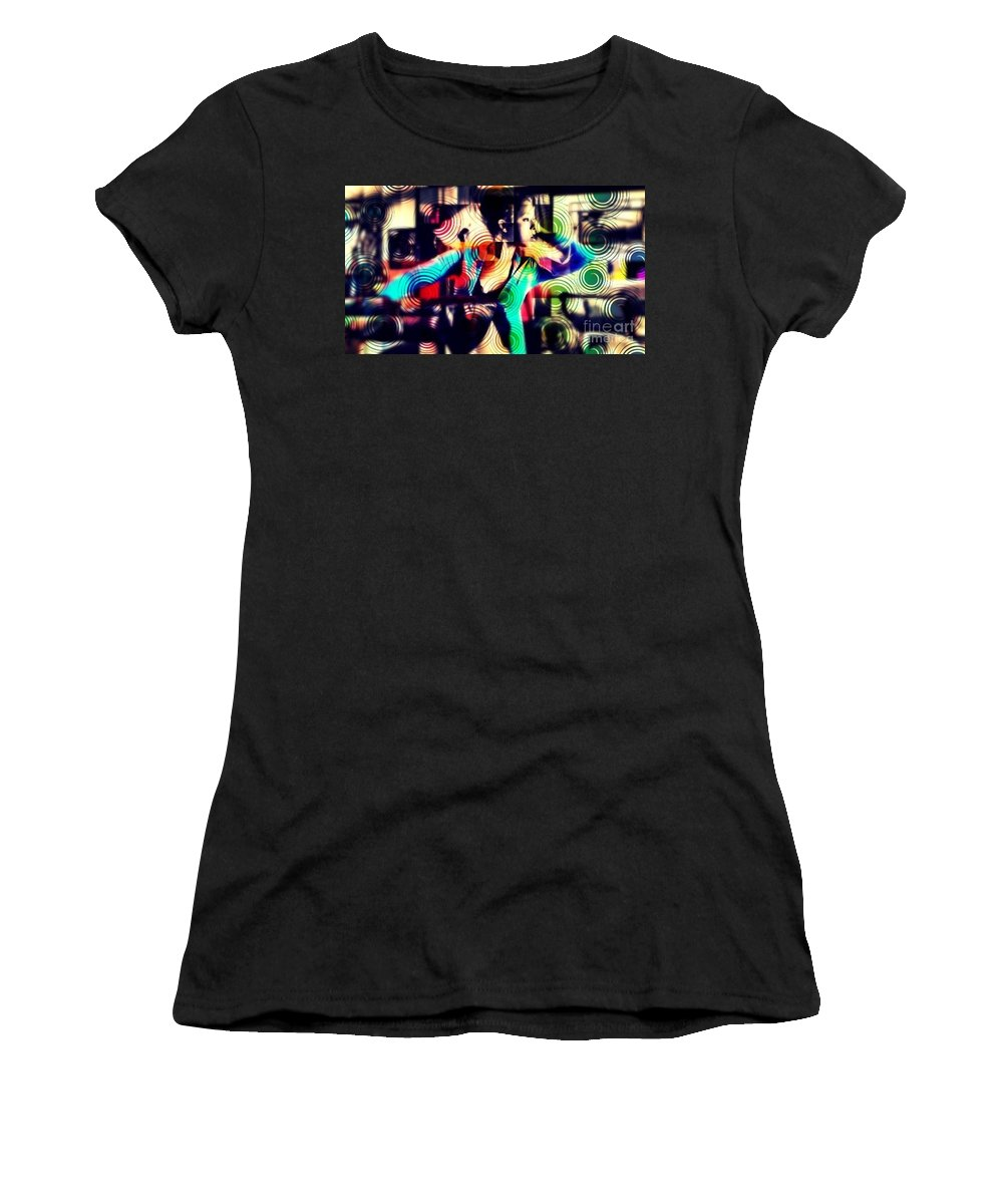 Women's T-Shirt featuring the photograph Confounded by Jessica Shelton
