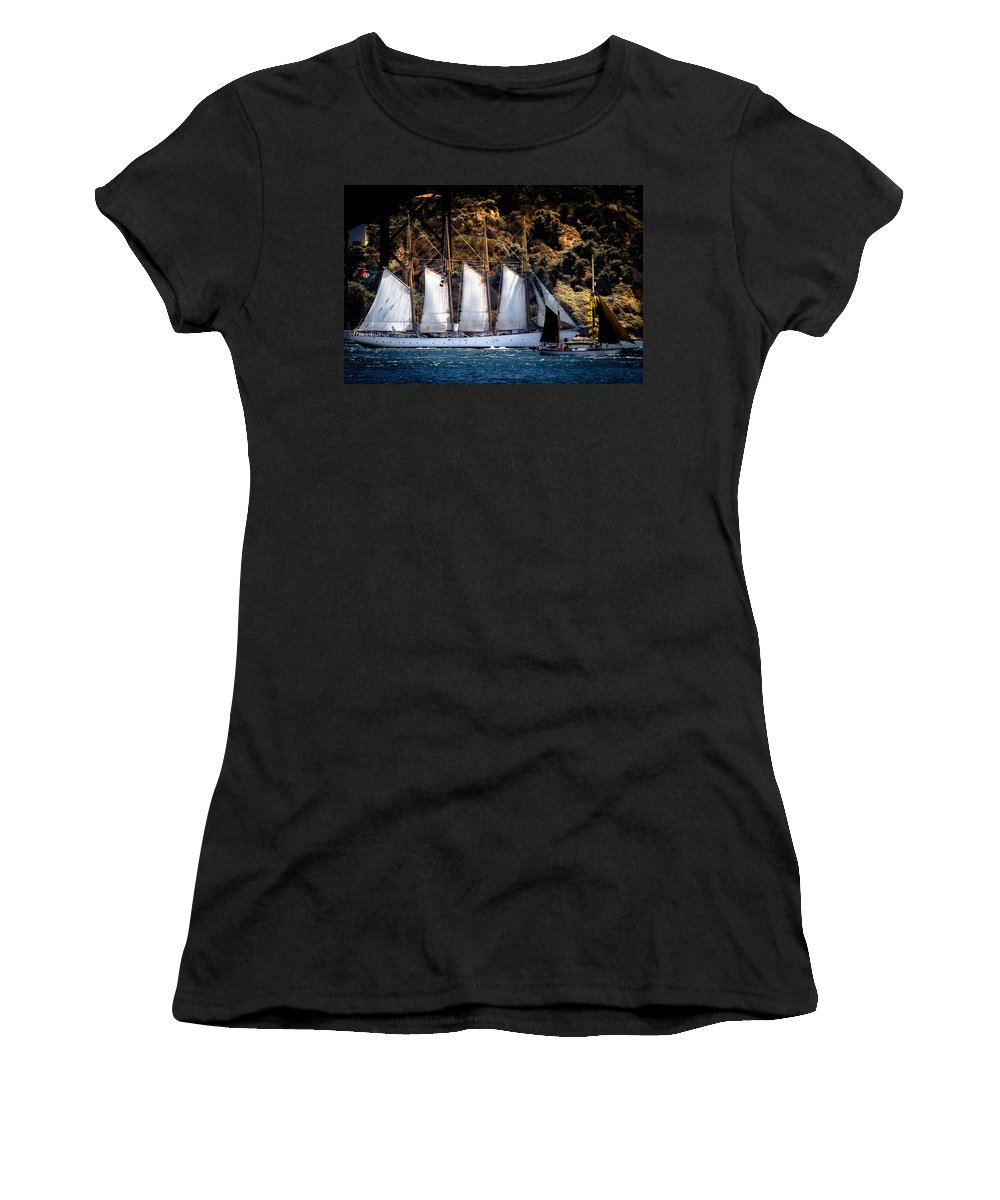 Creoula Women's T-Shirt (Athletic Fit) featuring the photograph Creoula by Edgar Laureano