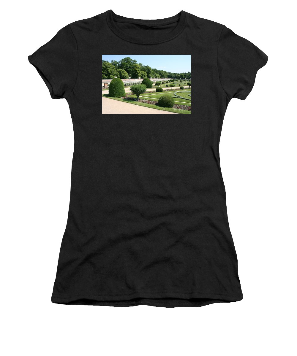 Garden Women's T-Shirt (Athletic Fit) featuring the photograph Diane De Poitiers' Gardens by Christiane Schulze Art And Photography