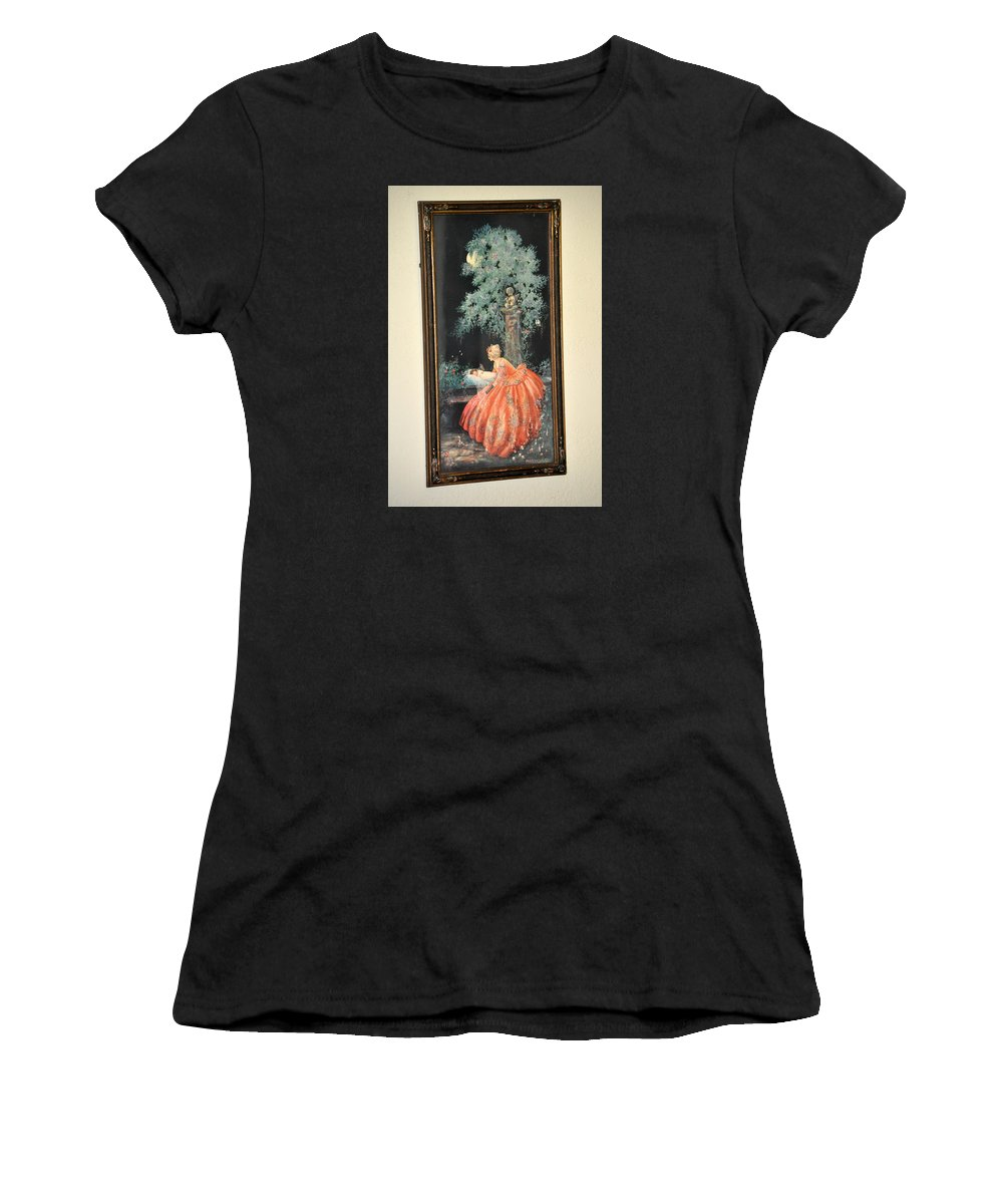 Marygold Women's T-Shirt (Athletic Fit) featuring the photograph Dreaming By Marygold by Jay Milo