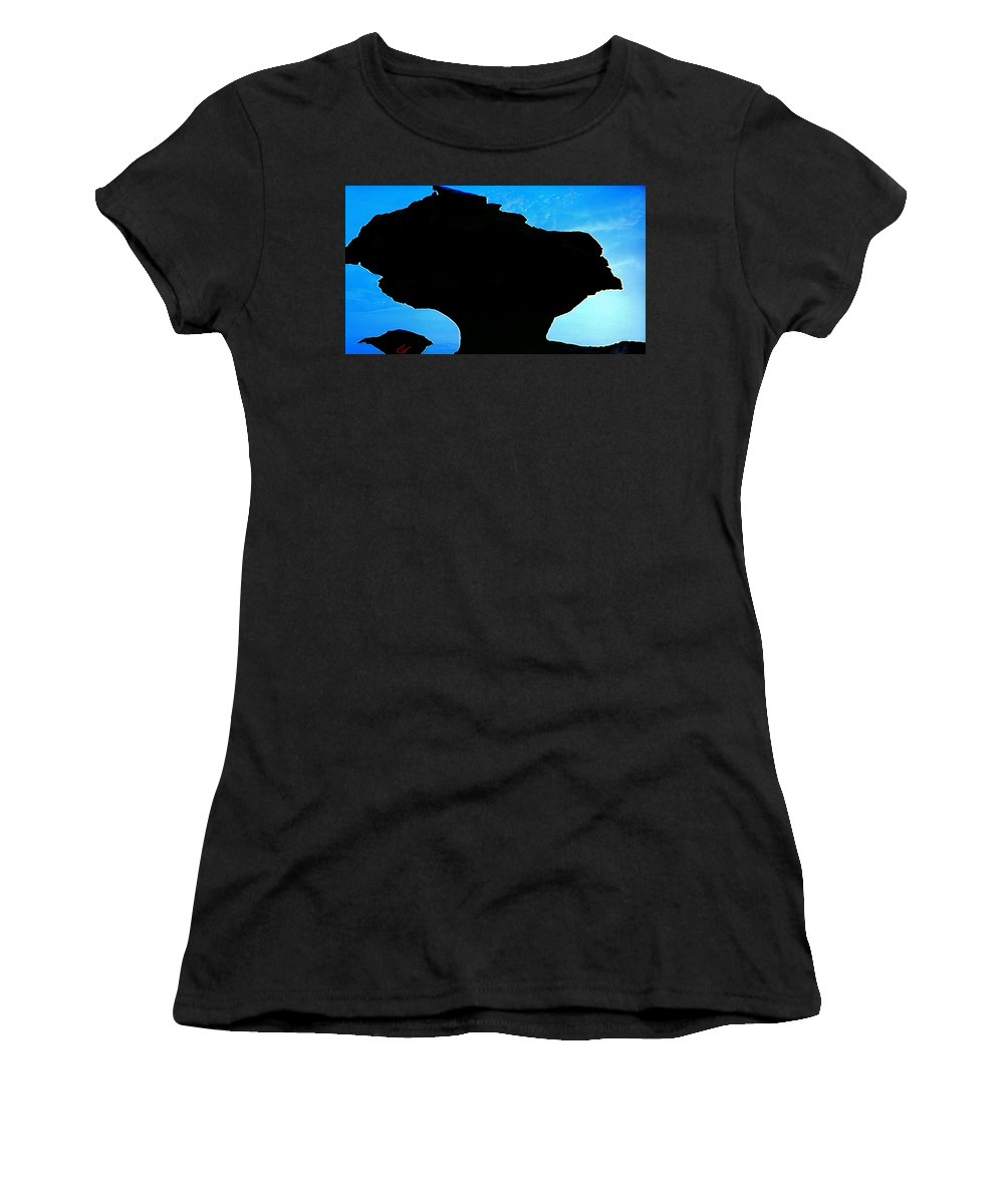 Colette Women's T-Shirt featuring the photograph Egypt Nature Formation by Colette V Hera Guggenheim