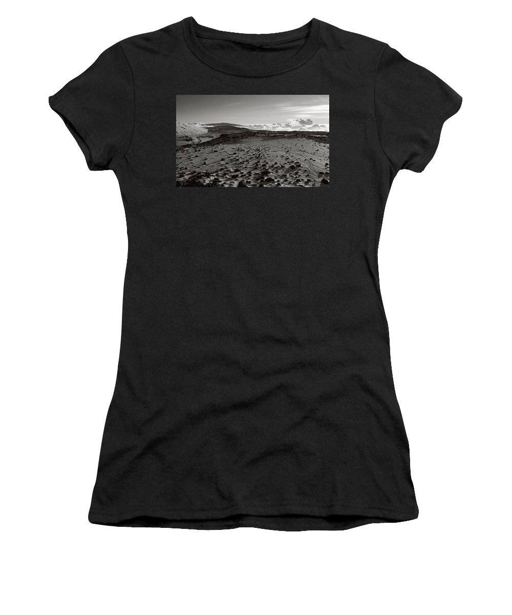 Mauna Kea Women's T-Shirt (Athletic Fit) featuring the photograph Elysian Path by Scott Rackers