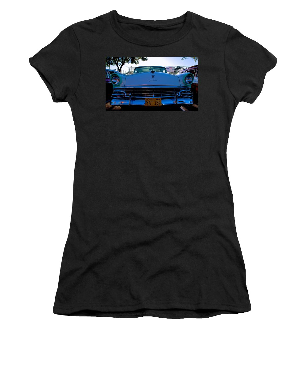 Ford Women's T-Shirt featuring the photograph Fairlane Ford by Eric Tressler