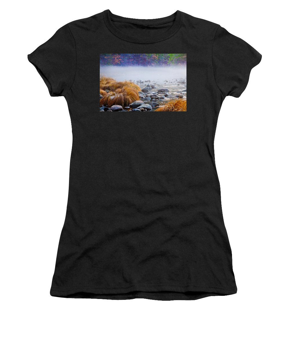 Fall Women's T-Shirt featuring the photograph Fall On The Merced by Bill Gallagher
