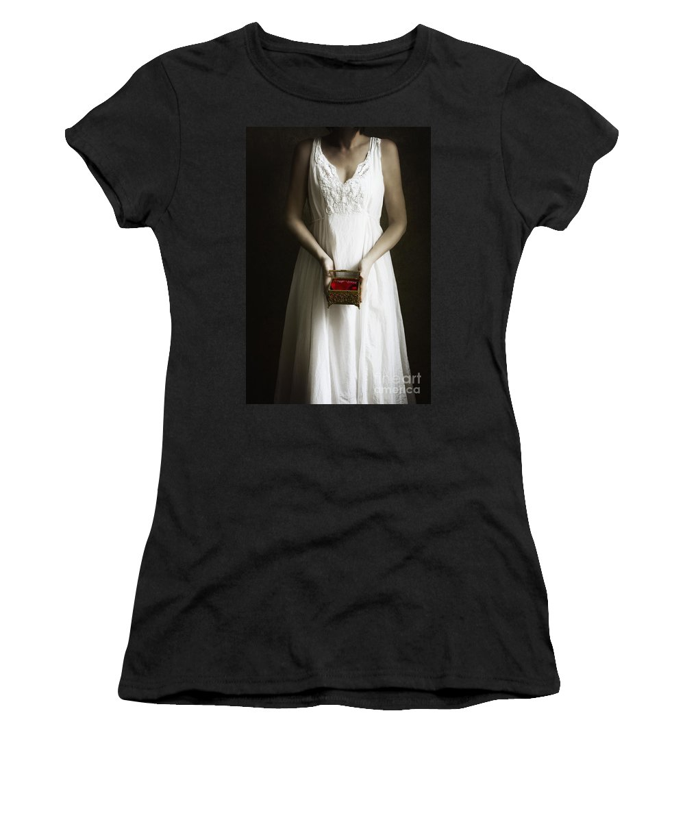 Caucasian Women's T-Shirt (Athletic Fit) featuring the photograph Fertility by Margie Hurwich