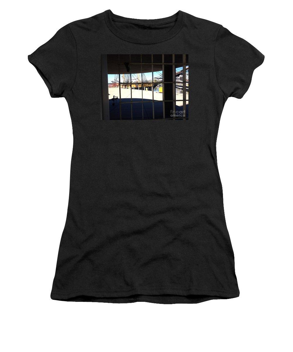 Flagship Niagara Women's T-Shirt featuring the photograph Flagship Niagara by Anne Cameron Cutri