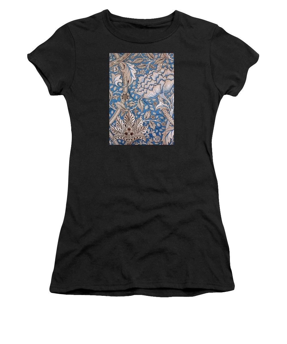 William Women's T-Shirt featuring the tapestry - textile Floral Design by William Morris