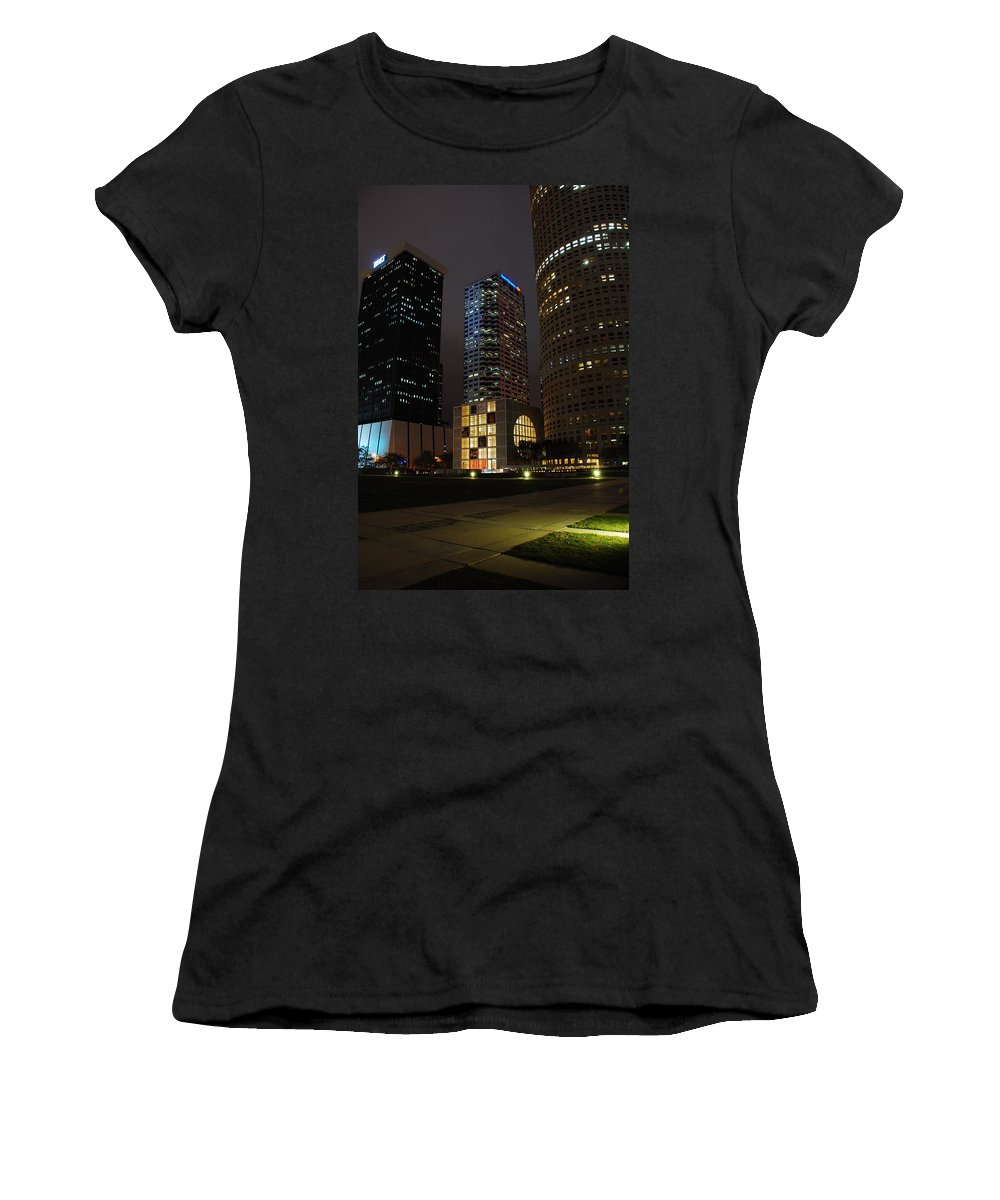 Tampa Women's T-Shirt featuring the photograph Florida Museum Of Photographic Arts by Beverly Stapleton