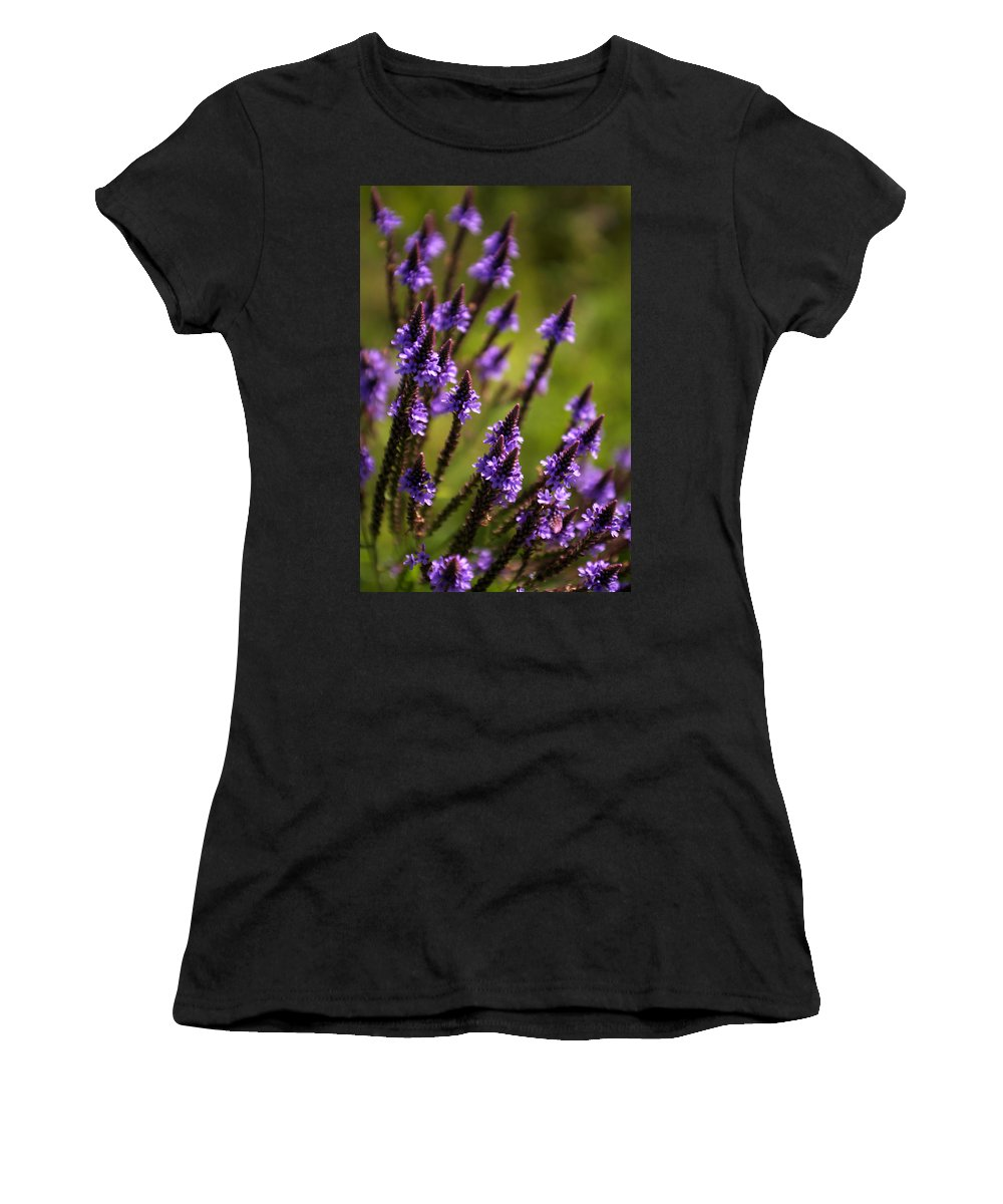 Flower Women's T-Shirt (Athletic Fit) featuring the photograph Flower 4 by Allan Lovell