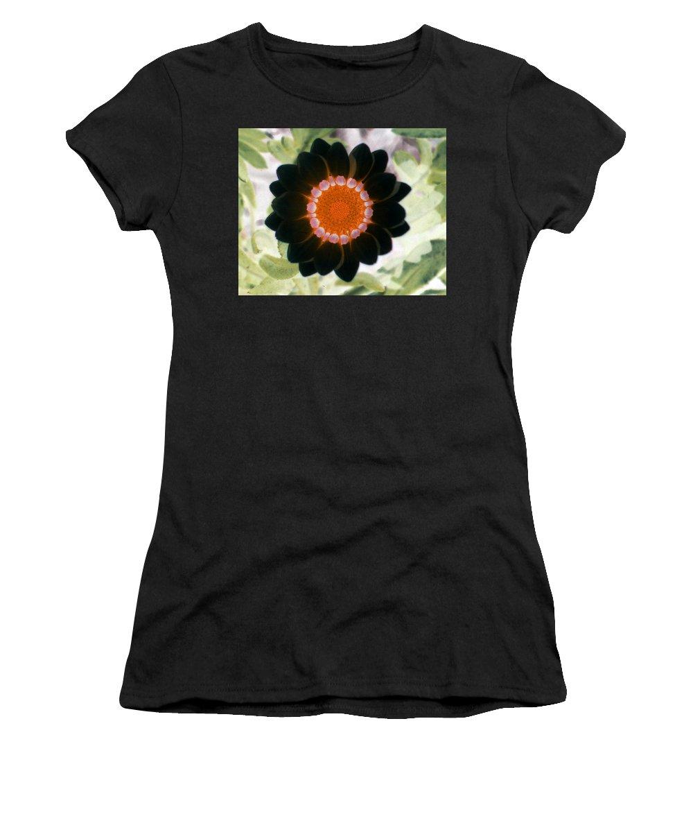 Flower Women's T-Shirt featuring the photograph Flower Power 1425 by Pamela Critchlow