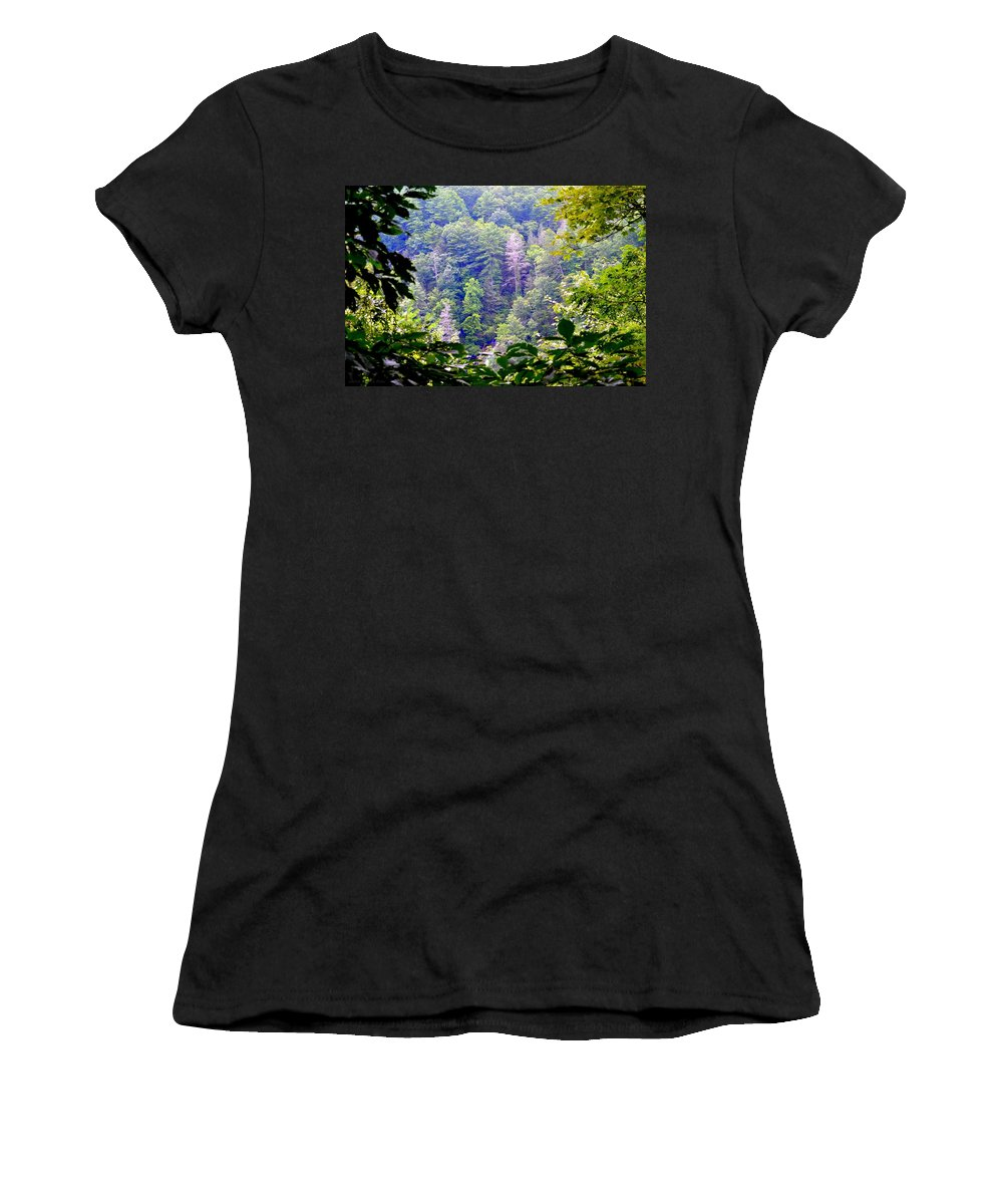 Forest Women's T-Shirt featuring the photograph Forest For The Trees by Tara Potts