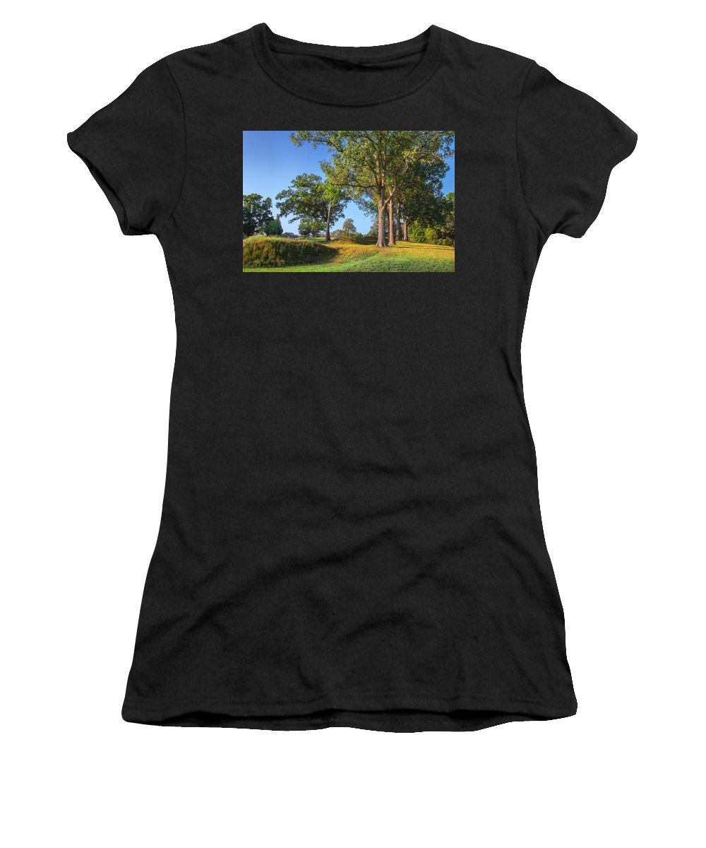 Fort Donelson Women's T-Shirt (Athletic Fit) featuring the photograph Fort Donelson by Mary Almond