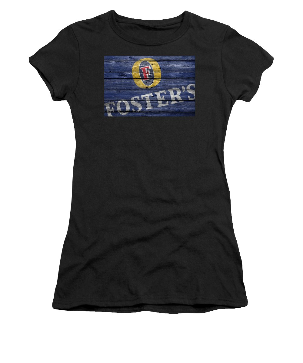 Fosters Women's T-Shirt (Athletic Fit) featuring the photograph Fosters by Joe Hamilton