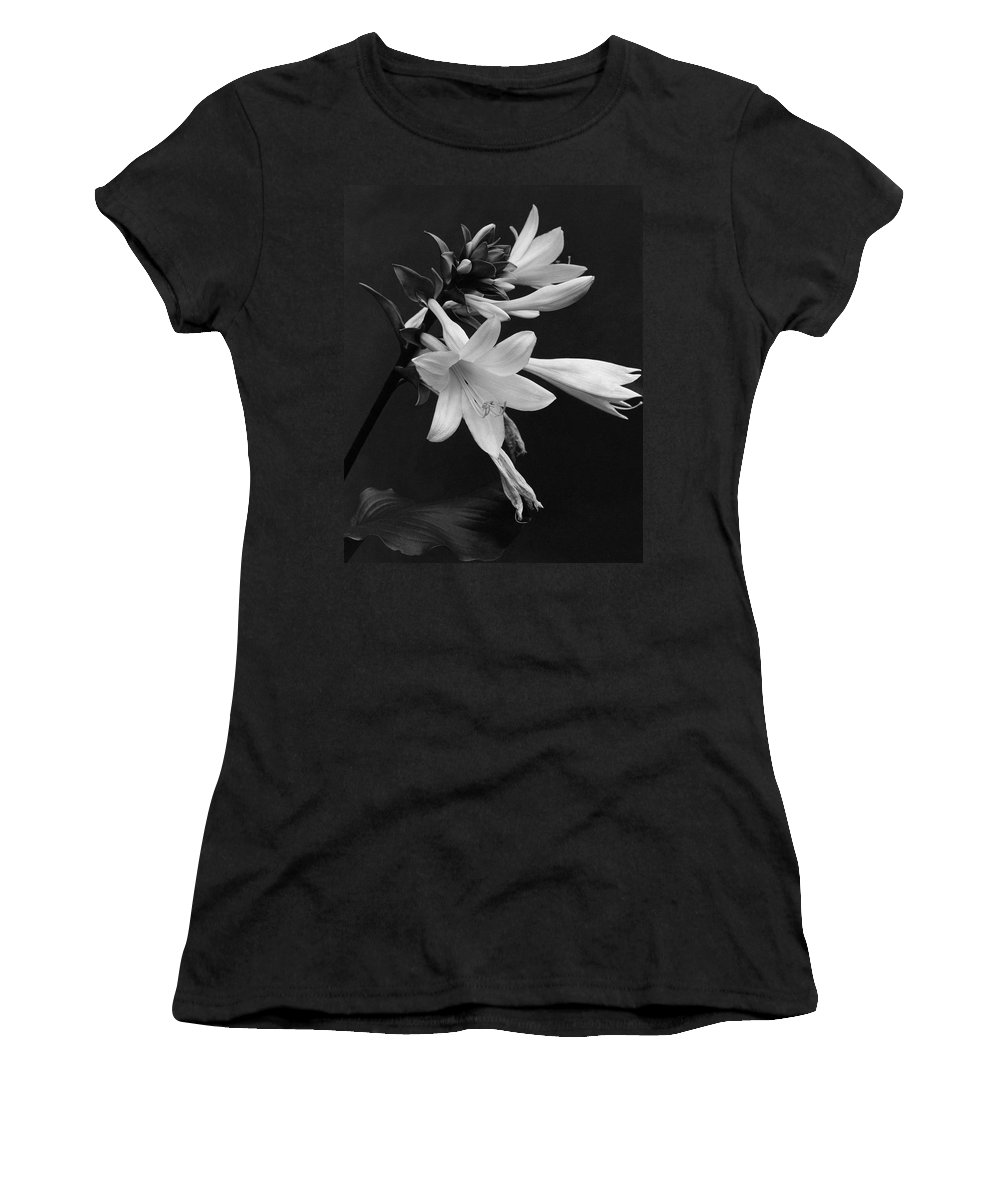 Flowers Women's T-Shirt featuring the photograph Fragrant Plantain Lily by J. Horace McFarland