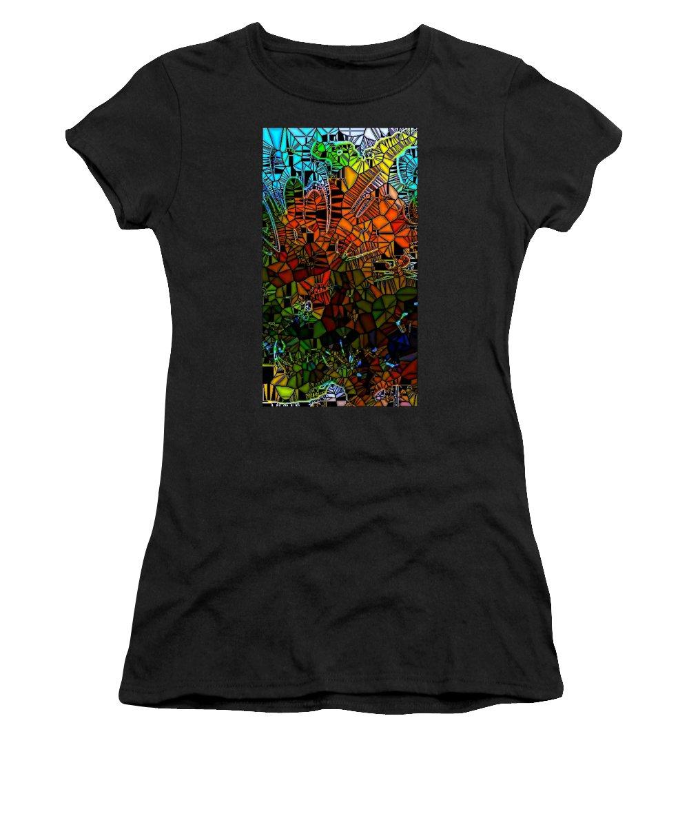 Digital Art Women's T-Shirt featuring the digital art Gen004-am by Amanda Moore