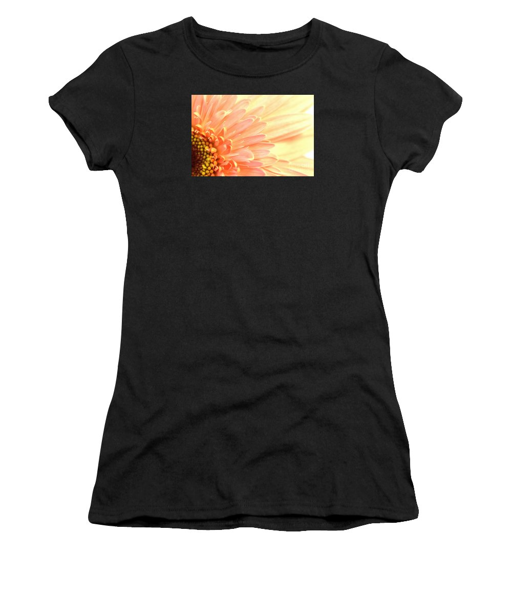 Country Women's T-Shirt featuring the photograph Gerbera Daisy by Robin Lynne Schwind