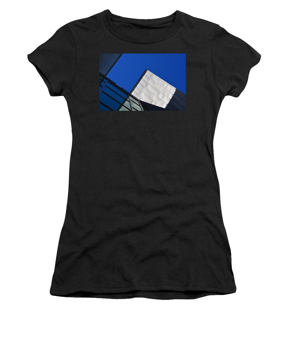Photo Women's T-Shirt (Athletic Fit) featuring the photograph God's Light - Architectural Photography By Sharon Cummings by Sharon Cummings