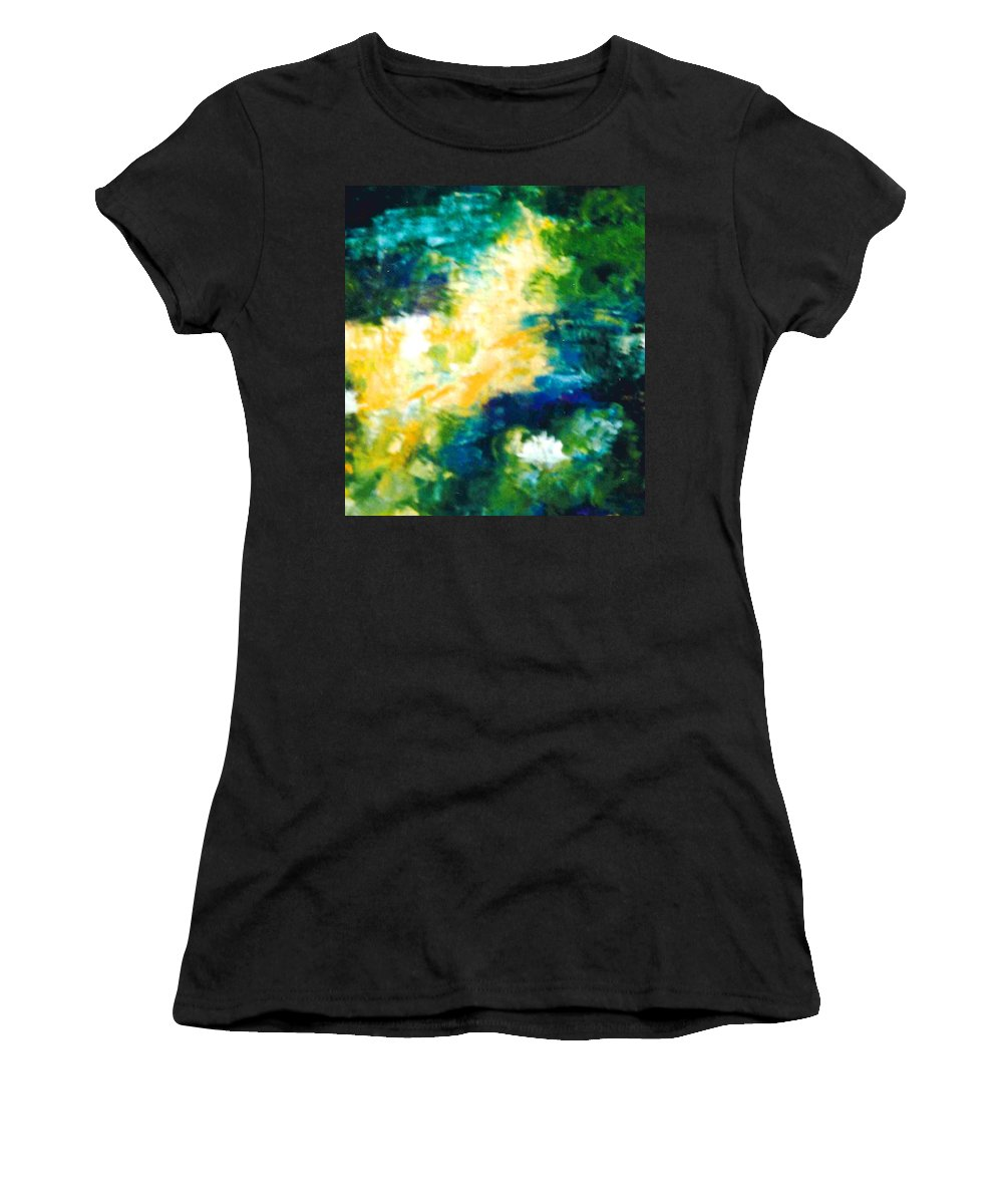 Lyle Women's T-Shirt (Athletic Fit) featuring the painting Gold Fish II by Lord Frederick Lyle Morris