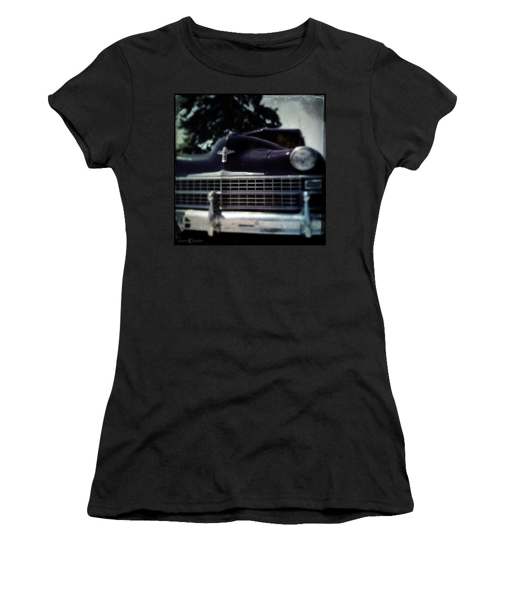 Chrysler Women's T-Shirt (Athletic Fit) featuring the photograph Got Me A Chrysler 2 by Tim Nyberg