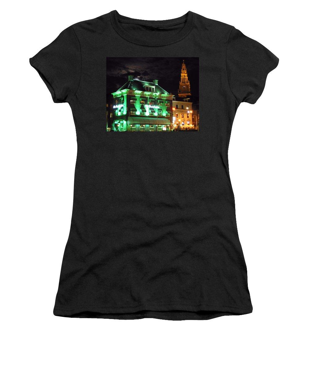 3scape Women's T-Shirt featuring the photograph Grasshopper Bar by Adam Romanowicz