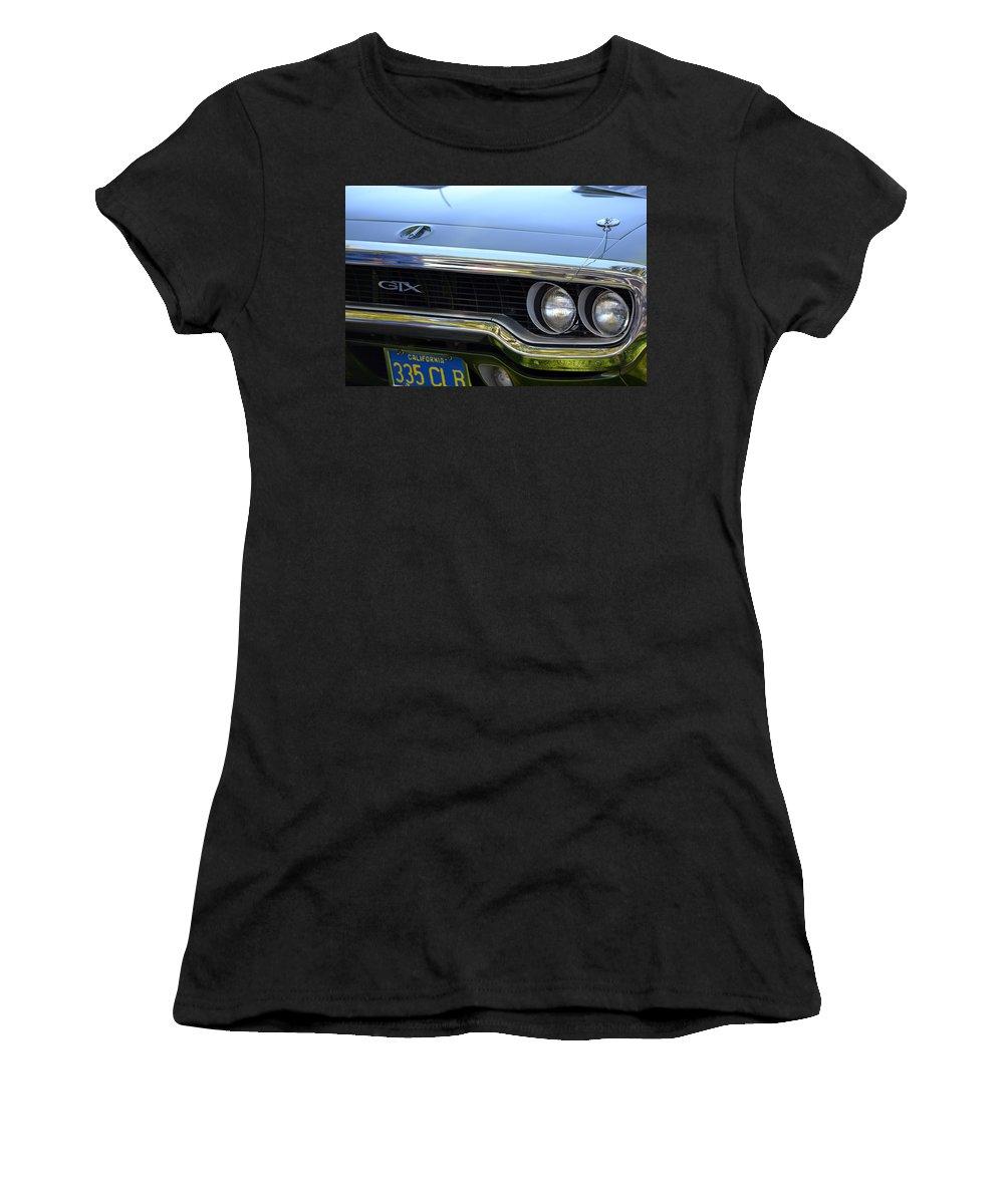 Gtx Women's T-Shirt featuring the photograph GTX by Dean Ferreira