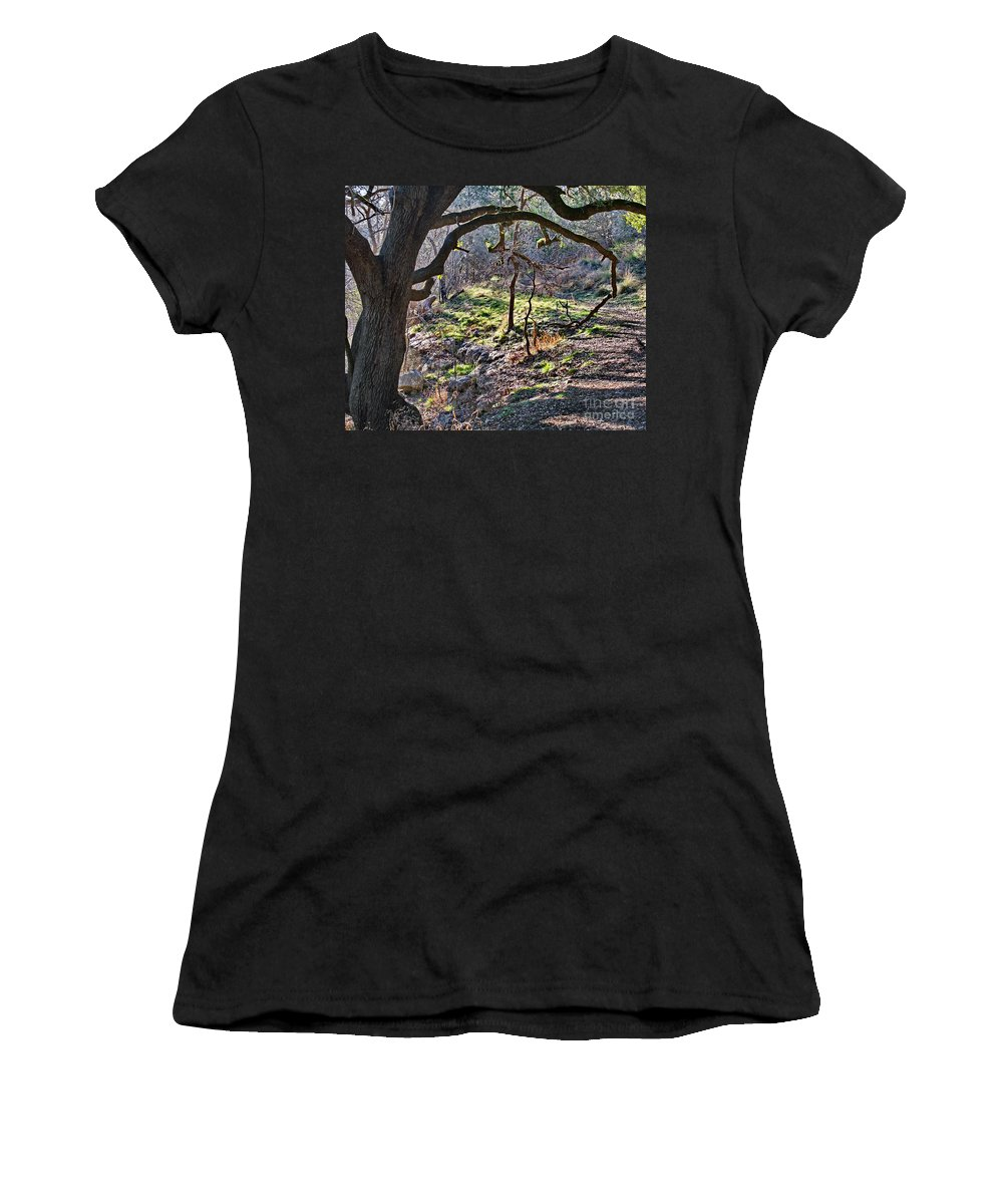 Guadalupe State Park Women's T-Shirt (Athletic Fit) featuring the photograph Guadalupe State Park by Gary Richards