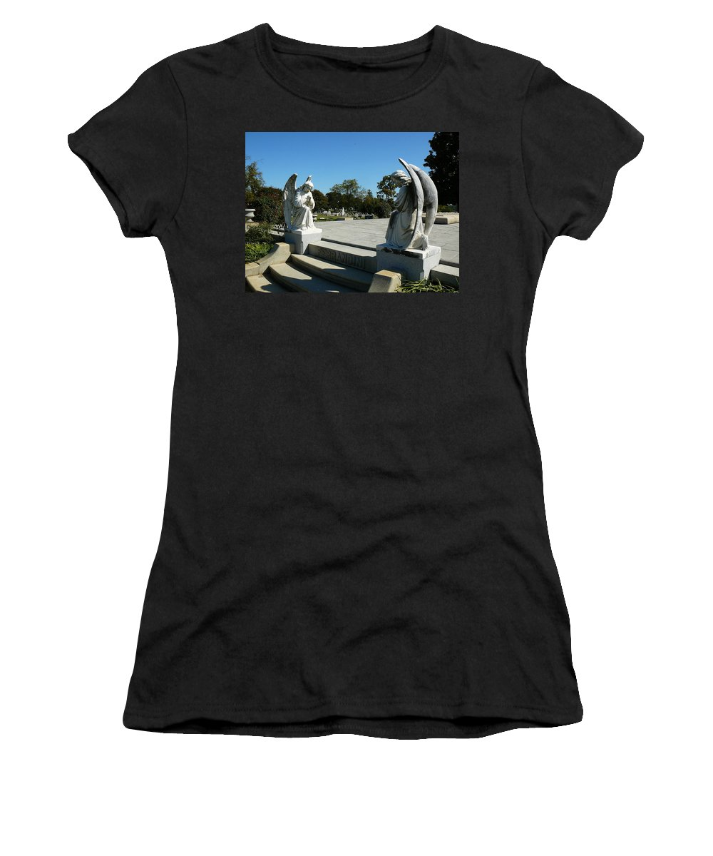 Virginia Women's T-Shirt featuring the photograph Guardian Angels by Two Bridges North