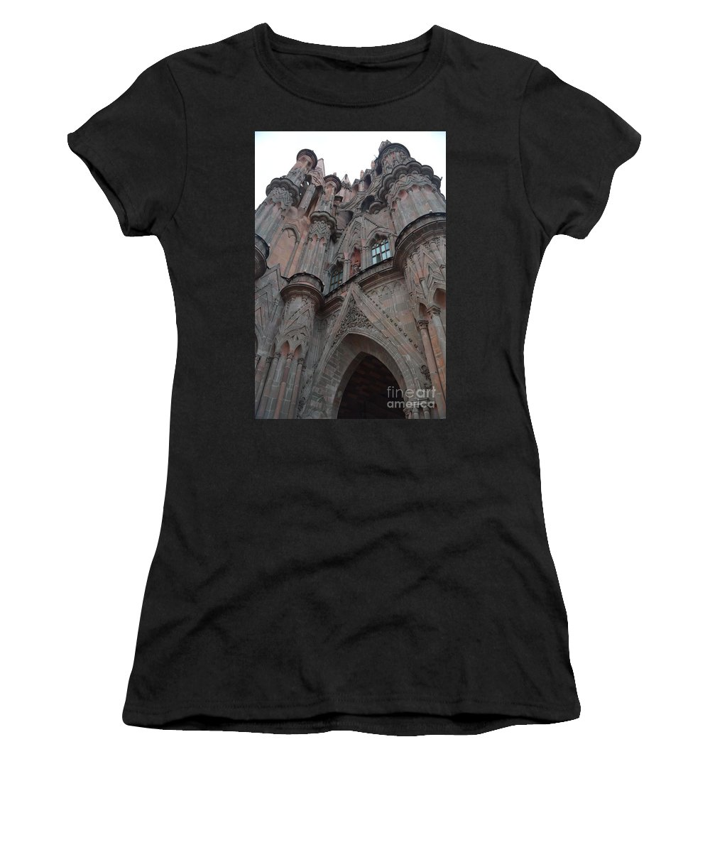 Hammer Women's T-Shirt (Athletic Fit) featuring the photograph Hammer And Chisel by Brian Boyle