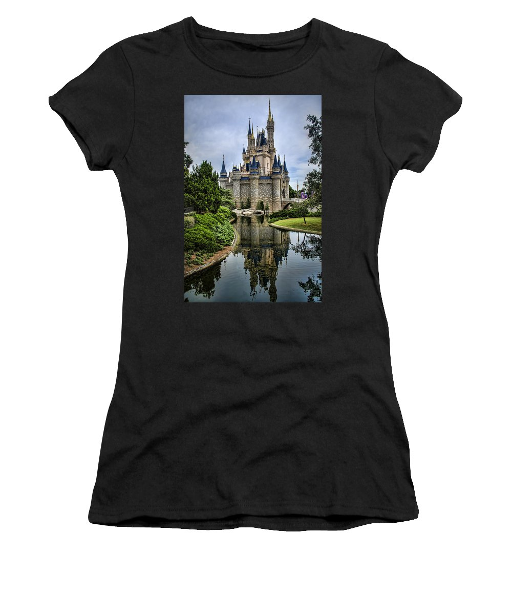 Disney Women's T-Shirt (Athletic Fit) featuring the photograph Happily Ever After by Heather Applegate