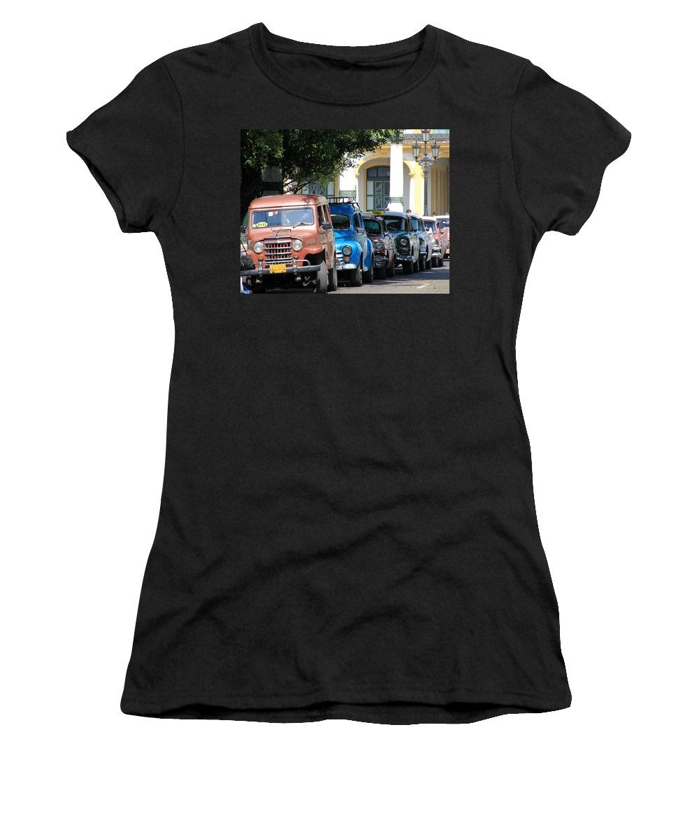 Havana Women's T-Shirt (Athletic Fit) featuring the photograph Havana 21 by Andrew Fare