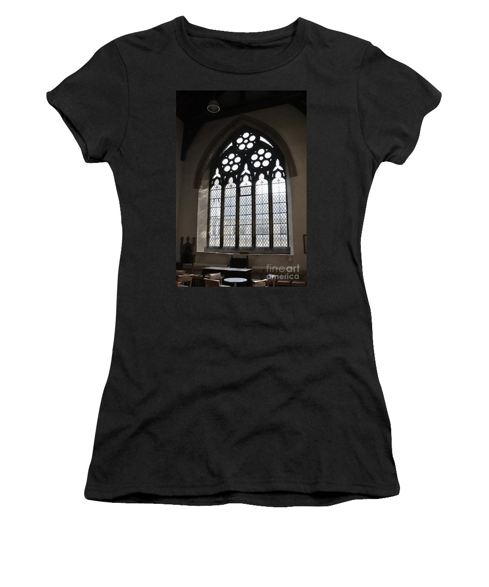 Grand Women's T-Shirt (Athletic Fit) featuring the photograph Heavens Light by Stephanie Guinn