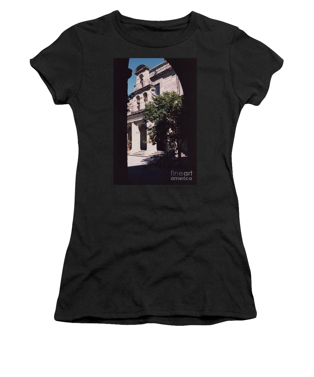 Mexico Women's T-Shirt featuring the photograph Hospicio Cabanas Guadalajara Mexico Orphanage 1 By Tom Ray by First Star Art