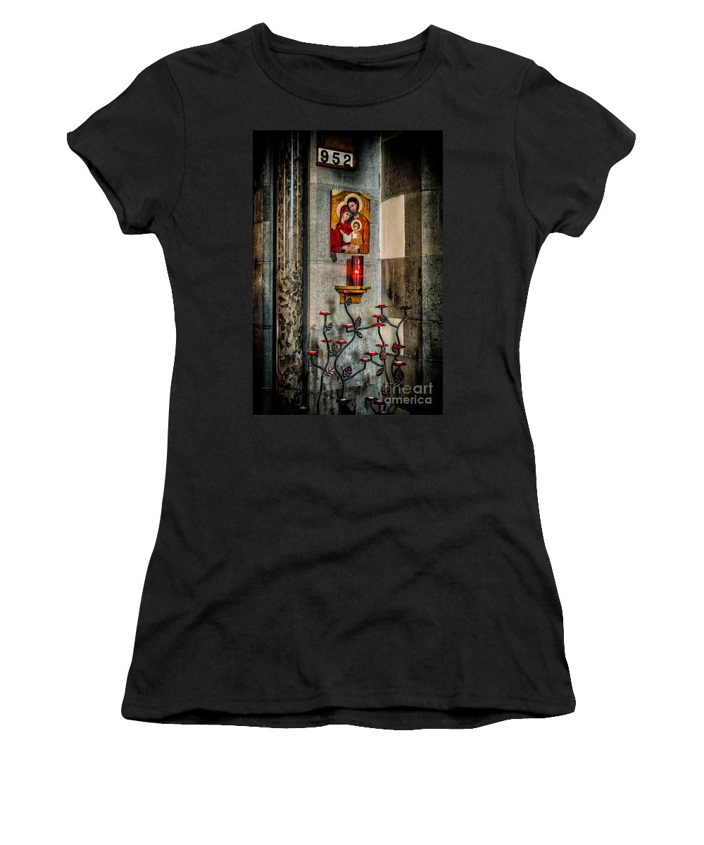 952 Women's T-Shirt featuring the photograph Hymn 952 by Adrian Evans