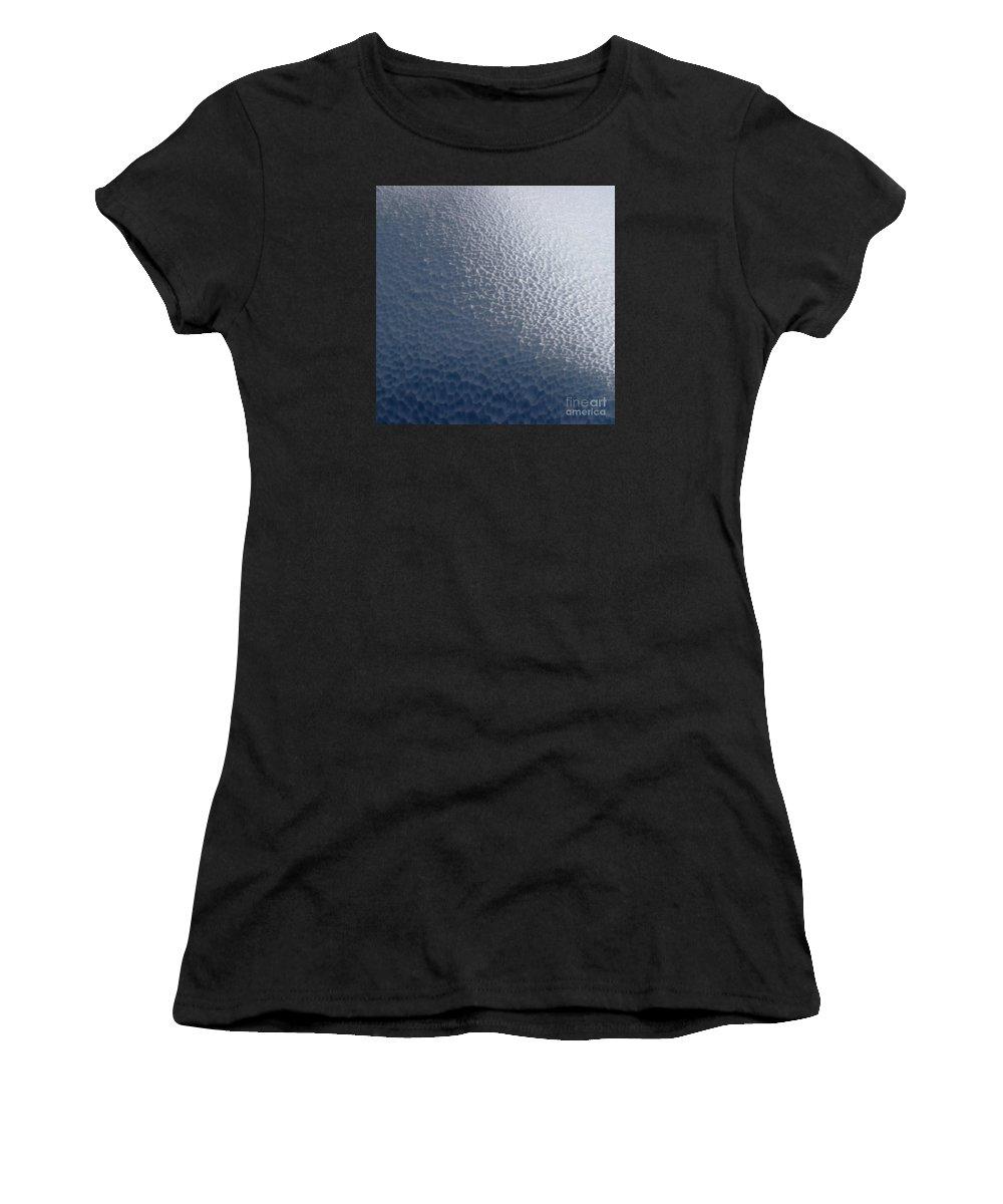 Festblues Women's T-Shirt featuring the photograph Ice Cream... by Nina Stavlund