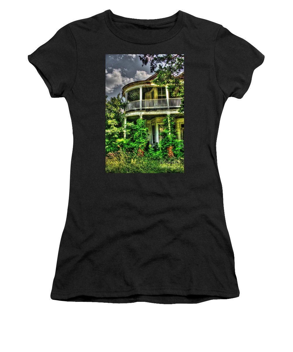 Old Women's T-Shirt featuring the photograph In Search Of Lost Souls by Dan Stone