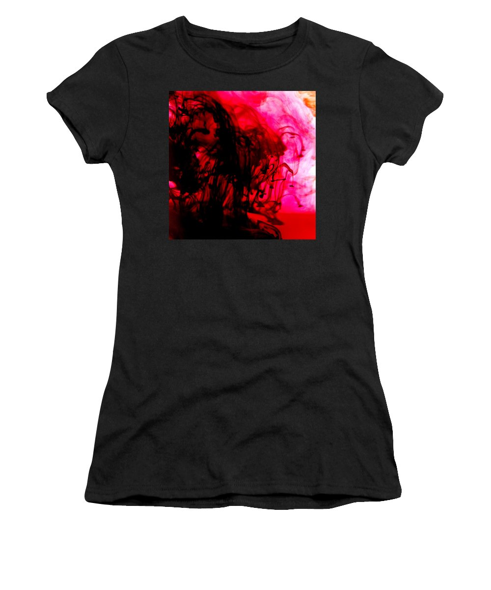 Ink Women's T-Shirt featuring the photograph Ink Bath by Molly Picklesimer
