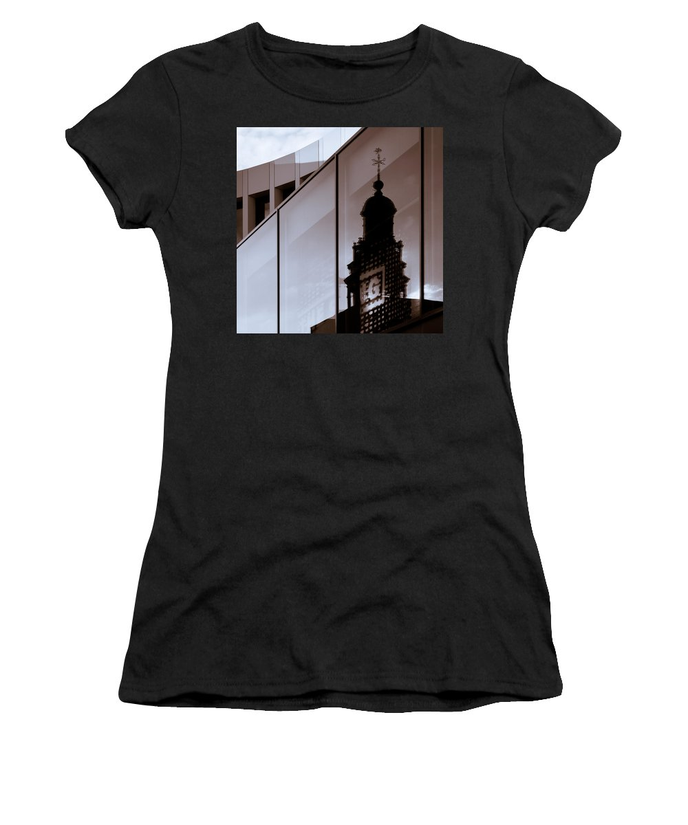 Maastricht Women's T-Shirt (Athletic Fit) featuring the photograph Inner City by Dave Bowman