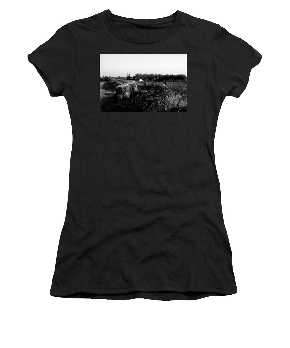 Italy Women's T-Shirt featuring the photograph Italy Back In The 60's by Donato Iannuzzi