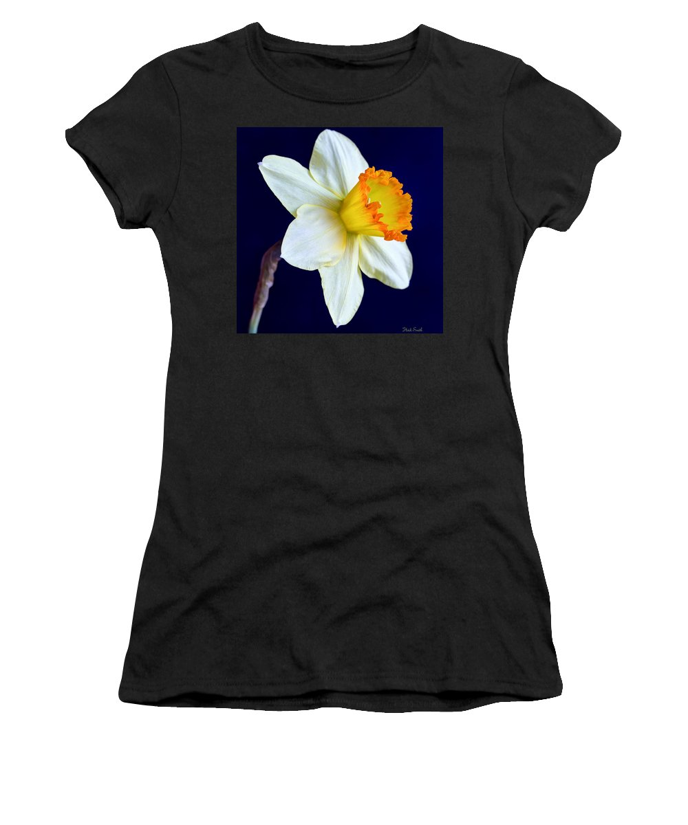 Background Women's T-Shirt (Athletic Fit) featuring the photograph It's Spring - Square by Heidi Smith